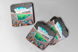 tannadice Coaster set of four